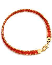 Astley Clarke - Woven Biography Bracelet - Lyst