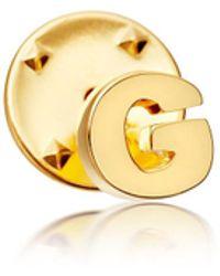Astley Clarke - Initial 'g' Biography Pin - Lyst