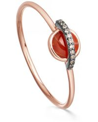 Astley Clarke - Agate Mini Saturn Ring - Lyst