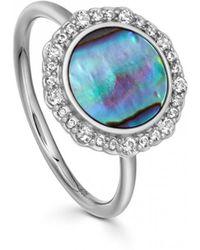 Astley Clarke - Luna Abalone Ring - Lyst
