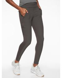 Athleta - Headlands Hybrid Cargo Tight - Lyst
