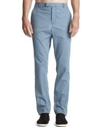 ATM - Stretch Cotton Slim Pants - Lyst