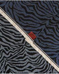 POM Amsterdam - Premium Zebra Denim Scarf - Lyst