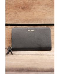 Royal Republiq - Galax Miniature Black Wallet - Lyst