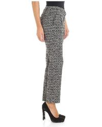 Seventy - Tailored Trousers In Grey - Lyst