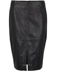 Second Female - Lione Leather Skirt - Lyst
