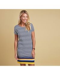 Barbour - Women's Harewood Striped Dress - Lyst