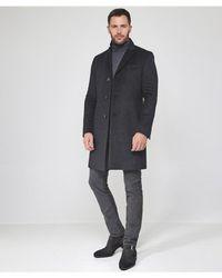BOSS - Virgin Wool & Cashmere Blend Nye2 Coat - Lyst