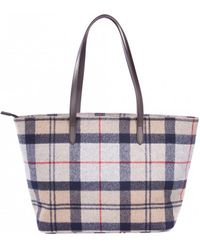 Barbour - Women's Witford Tartan Tote Bag - Lyst