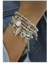 ChloBo - Cute Charm Hummingbird Bracelet - Lyst