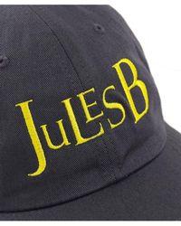 Jules B - Cotton Twill Baseball Cap - Lyst