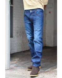 Lee Jeans - Daren Hudson Blue Zip Fly Jeans - Lyst