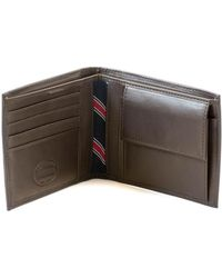 Tommy Hilfiger - Eton Cc And Coin Wallet Brown - Lyst