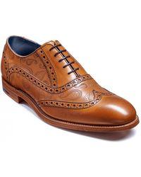 Barker - Grant Brogue Shoes - Lyst