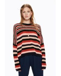 Maison Scotch - Striped Woollen Pullover In Combo A - Lyst