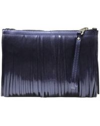 Gianni Chiarini - Clutch Bag In Purple - Lyst