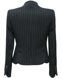 Armani - Chalk Stripe Skirt Suit - Lyst