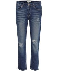 Part Two - Indira Iii Relaxed Fit Jeans In Medium Blue Denim - Lyst