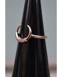 Maria Black - Tusk Rose Gold Ring - Lyst