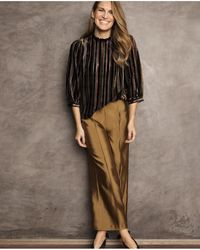 Part Two - Nona Bronze Trousers - Lyst
