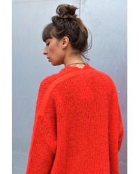American Vintage - Boodler Coquelicot Cardigan - Lyst