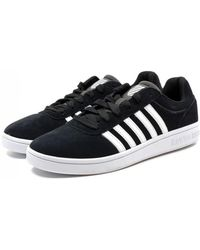 K-swiss - Court Cheswick Suede Trainers - Lyst