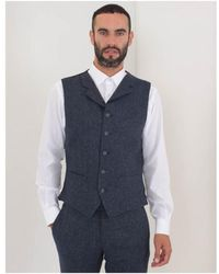 Gibson - Donegal Waistcoat - Lyst
