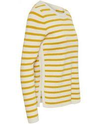 Part Two - Konja Yellow Knit - Lyst