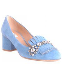 Nina Lilou - Heels In Blue - Lyst