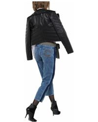 Patrizia Pepe - Cropped Jeans In Blue - Lyst