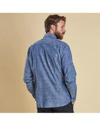 Barbour - Contour Chambray Shirt - Lyst
