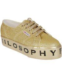 Philosophy - PHILOSOPHY Sneaker superga oro - Lyst