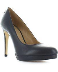 1468fe766a7b MICHAEL Michael Kors - Michael Kors Antoinette Charcoal Grey Court Shoes 38  - Lyst