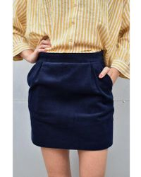 Harris Wilson - Estelanne Marine Skirt - Lyst