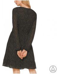 MICHAEL Michael Kors - Michael Kors Printed Dress In Red - Lyst