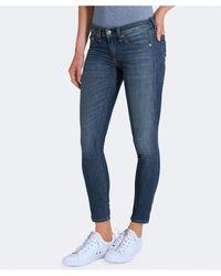 Rag & Bone - Rag And Bone Washed Capri Jeans - Lyst