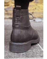H by Hudson - Hudson Fernie Brown Boots - Lyst