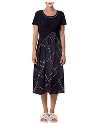 Crea Concept Dress Black / White 29004