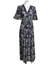 339292bae6e Dolce   Gabbana Mock-neck Long-sleeve Giraffe-print Chiffon Dress in ...