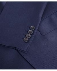 Hackett - Wool Micro Check Suit - Lyst