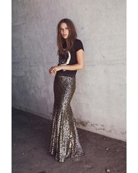 Bodega - Sequin Mermaid Skirt - Lyst