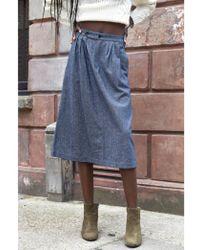 Harris Wilson - Enisse Marine Skirt - Lyst