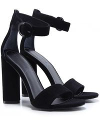 Kendall + Kylie - Kendall And Kylie Suede Giselle Ankle Strap Sandals - Lyst