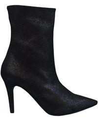 Lorenzo Masiero - Glitter Ankle Stiletto Heel Boots W183a247 - Lyst