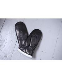 Hestra - Kathryn Black Leather Gloves - Lyst