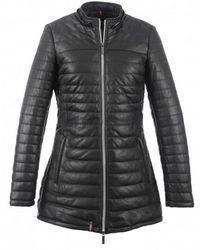 Oakwood - Poppy Luxe Black Jacket - Lyst