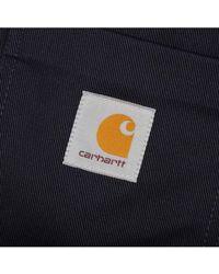 Carhartt - Chalk Jacket Dark Navy Rigid - Lyst