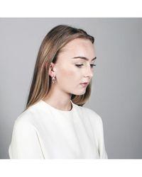 V Jewellery - Rose Lorelei Earrings - Lyst