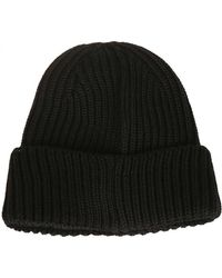 C P Company - Beanie In Black - Lyst