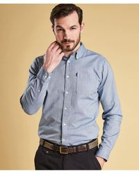 Barbour - Tailored Fit Endsleigh Oxford Shirt - Lyst